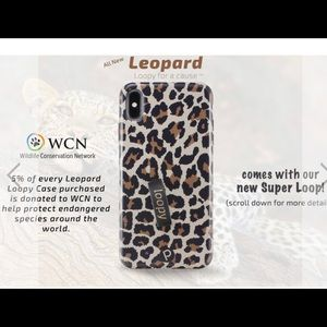 Leopard Loopy Case for iPhone XS Max